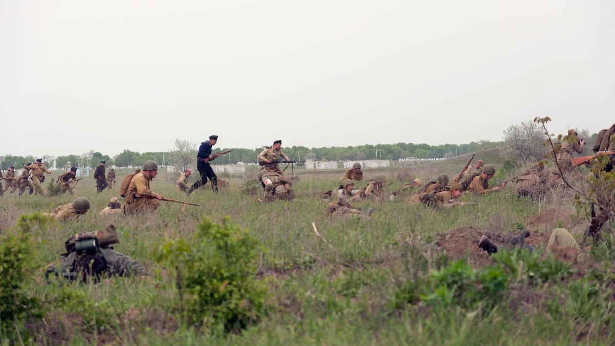 Битва за Берлин - реконструкция одного из сражений Великой Отечественной,  (49)