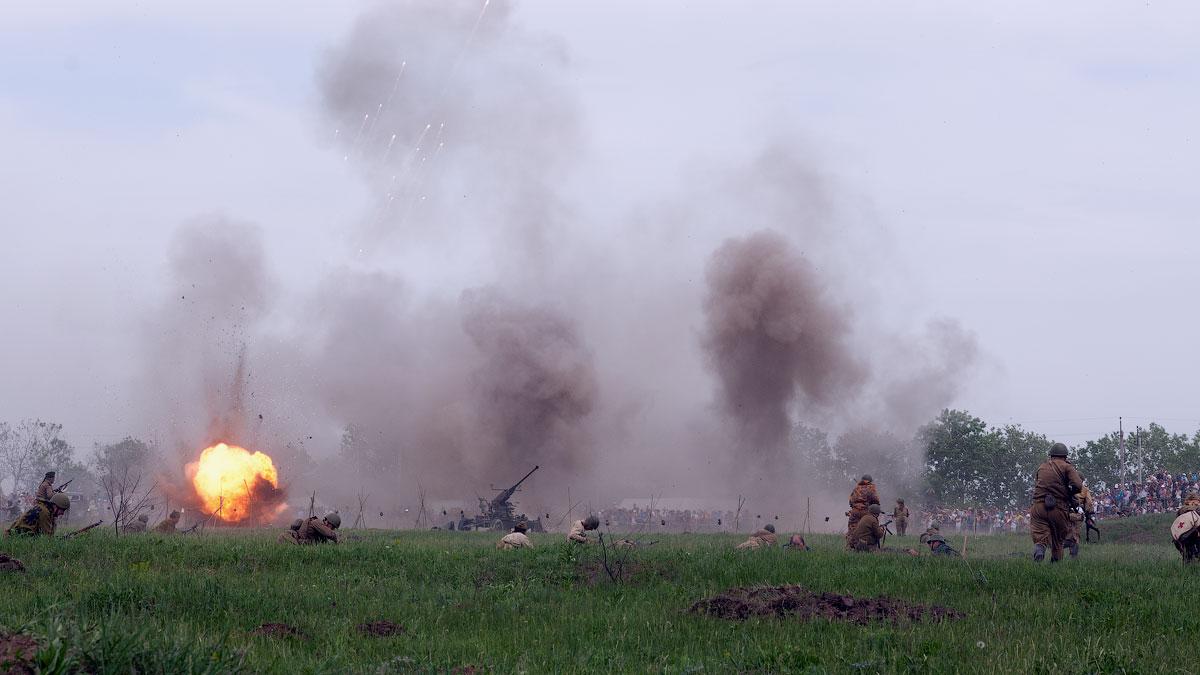 Битва за Берлин - реконструкция одного из сражений Великой Отечественной,  (51)