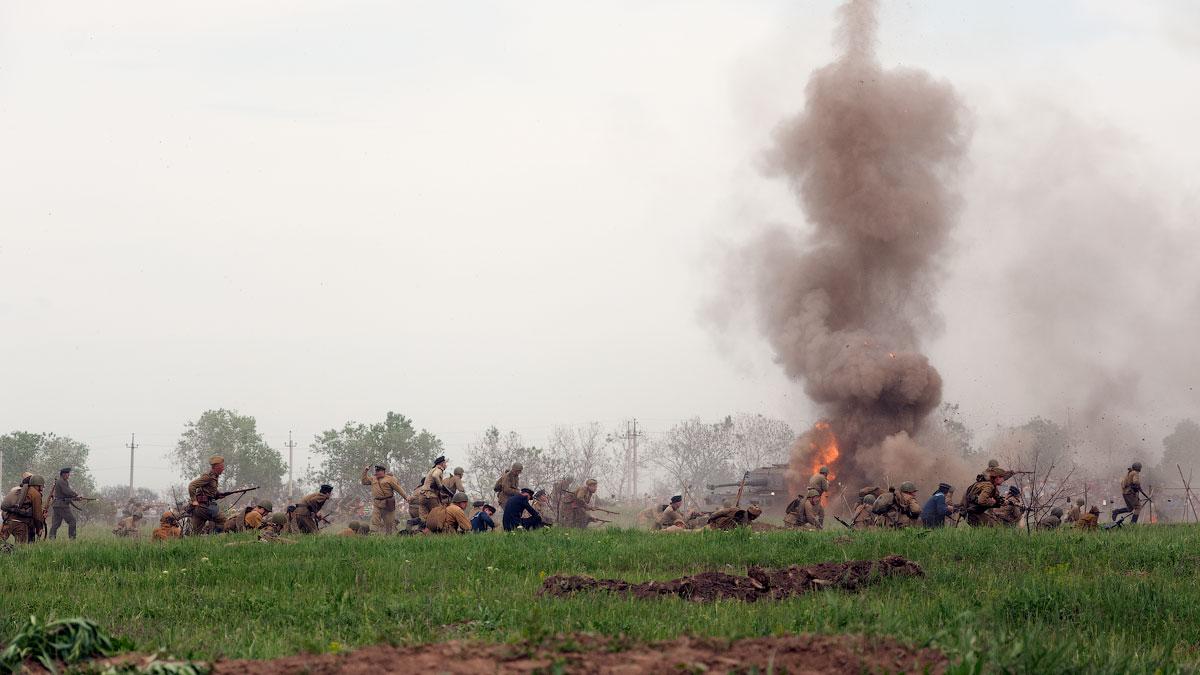 Битва за Берлин - реконструкция одного из сражений Великой Отечественной,  (52)
