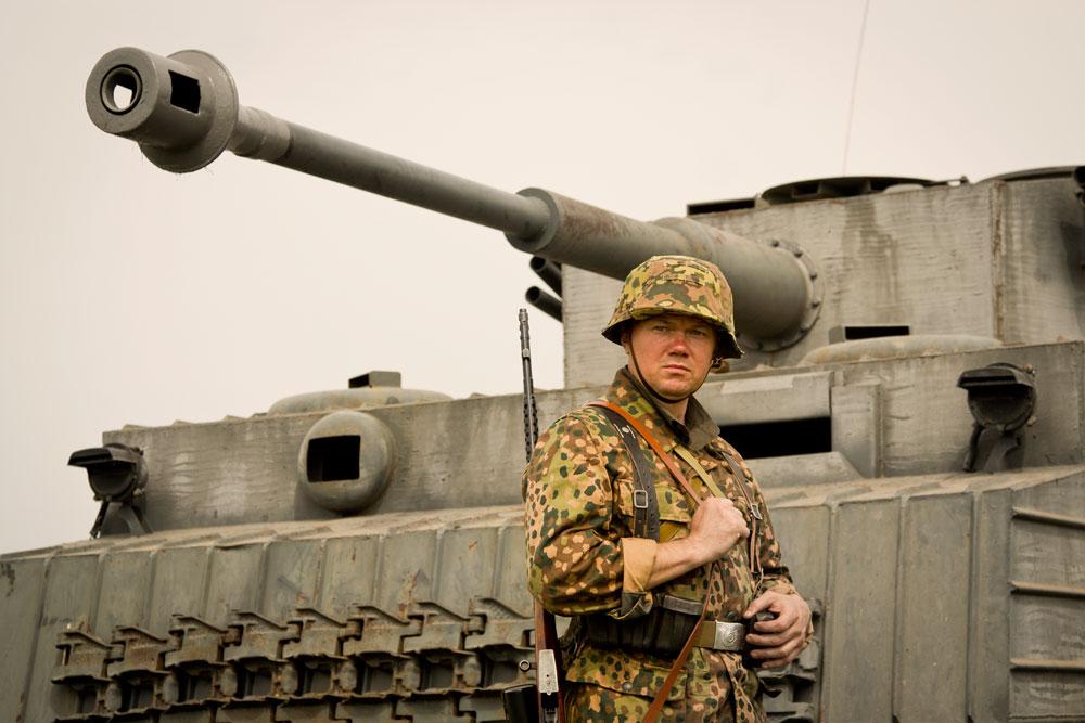 Битва за Берлин - реконструкция одного из сражений Великой Отечественной (56)