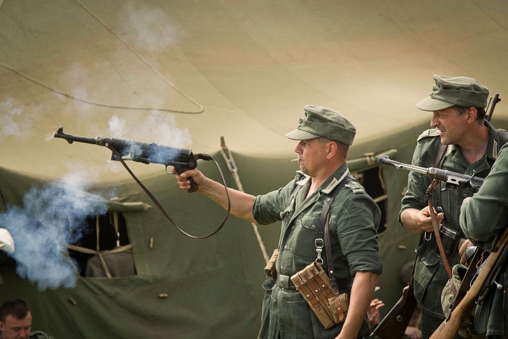 Битва за Берлин - реконструкция одного из сражений Великой Отечественной (66)