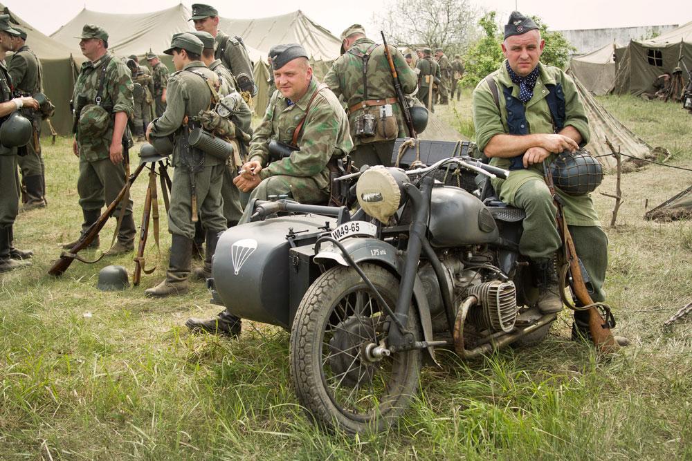 Битва за Берлин - реконструкция одного из сражений Великой Отечественной (70)