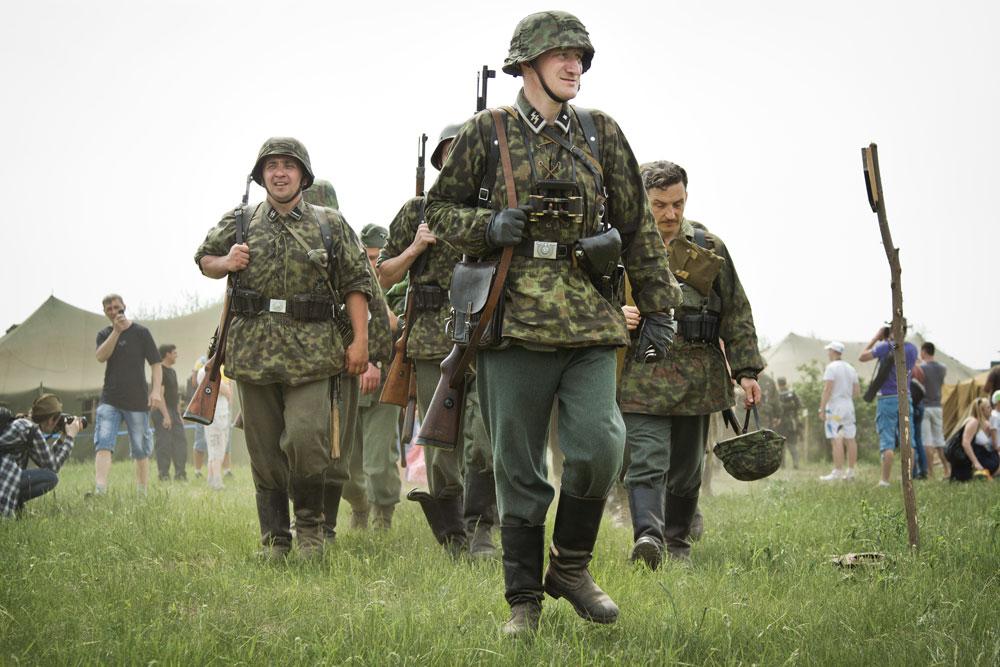 Битва за Берлин - реконструкция одного из сражений Великой Отечественной (71)