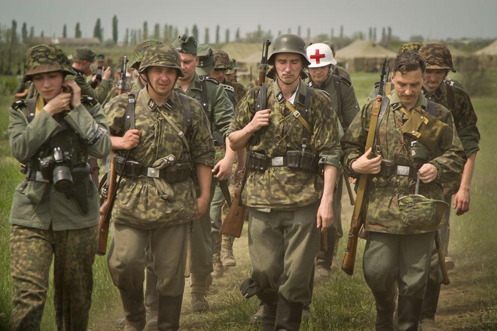 Битва за Берлин - реконструкция одного из сражений Великой Отечественной (72)