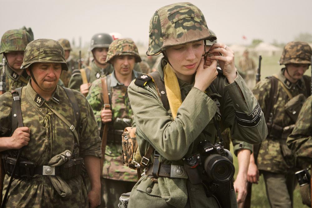 Битва за Берлин - реконструкция одного из сражений Великой Отечественной (73)