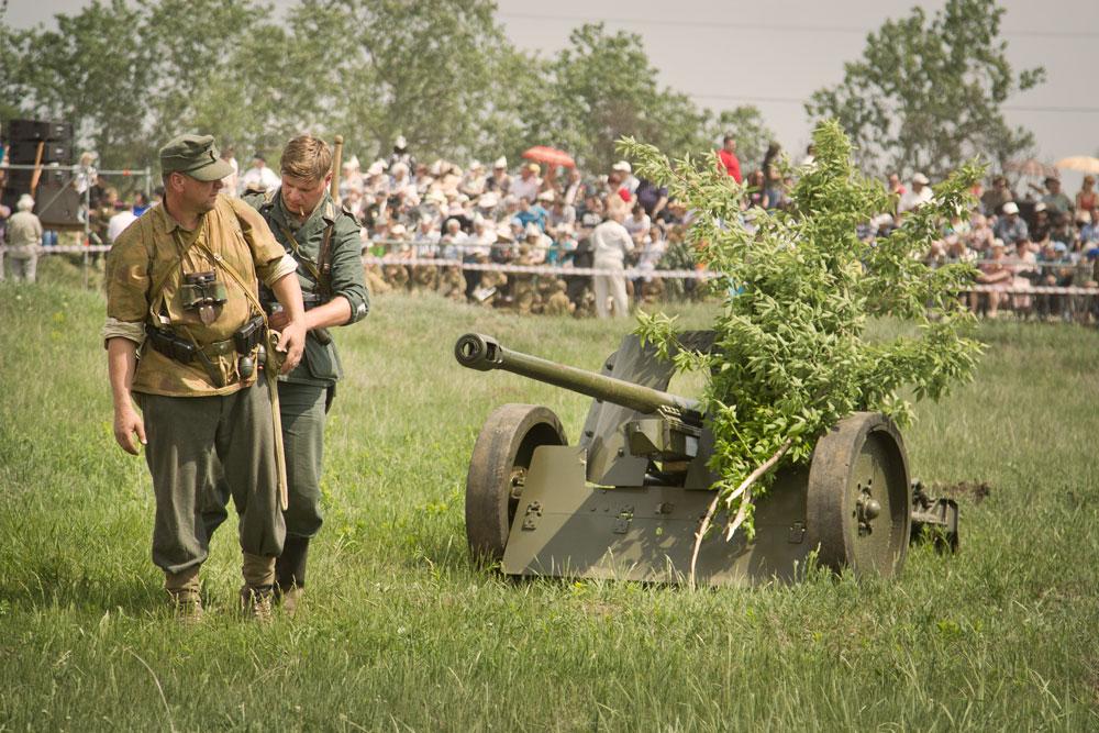 Битва за Берлин - реконструкция одного из сражений Великой Отечественной (77)