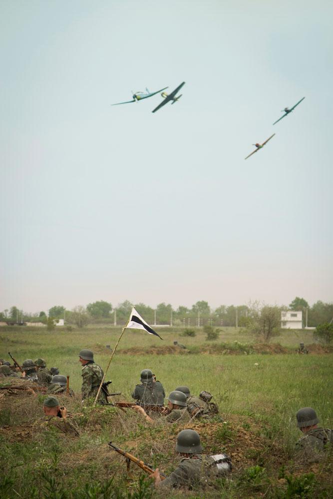 Битва за Берлин - реконструкция одного из сражений Великой Отечественной (83)