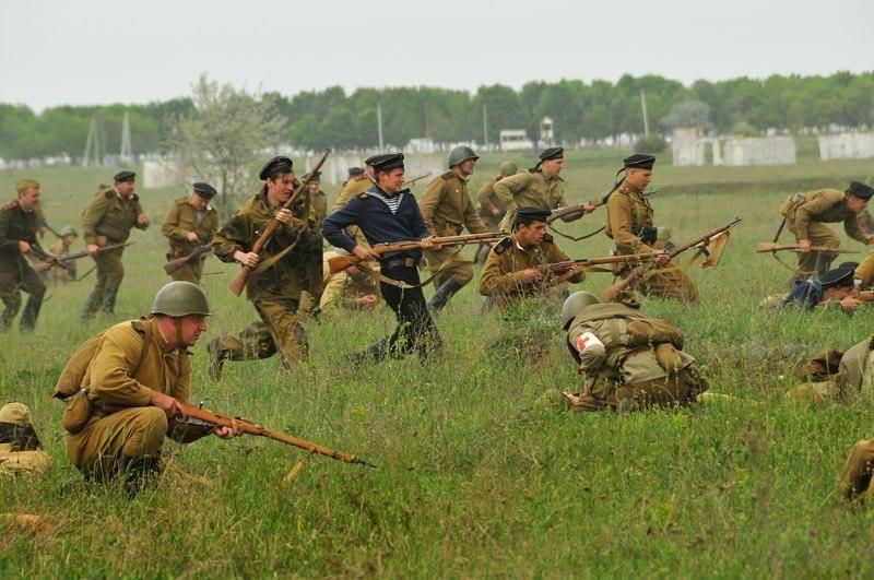 Битва за Берлин - реконструкция одного из сражений Великой Отечественной (1)