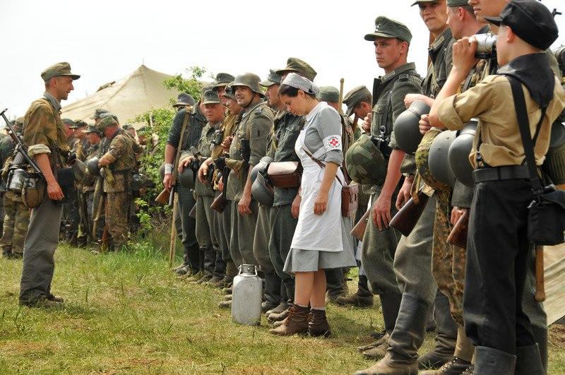 Битва за Берлин - реконструкция одного из сражений Великой Отечественной (12)