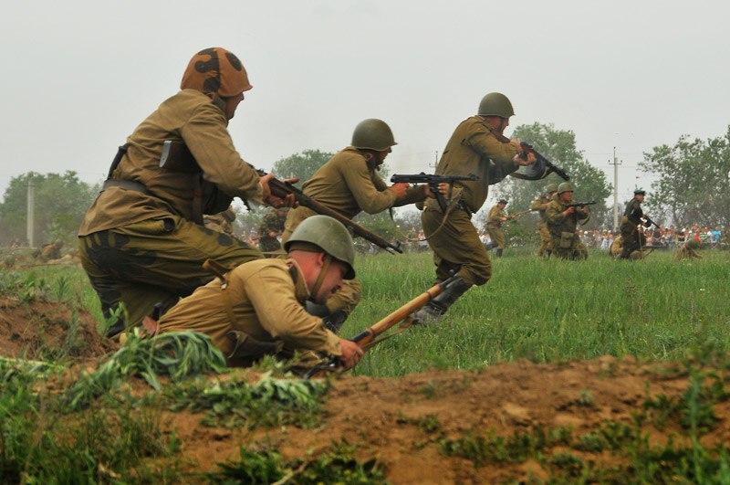 Битва за Берлин - реконструкция одного из сражений Великой Отечественной (9)