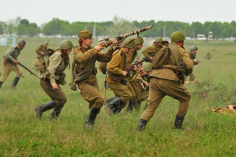 Битва за Берлин - реконструкция одного из сражений Великой Отечественной (16)