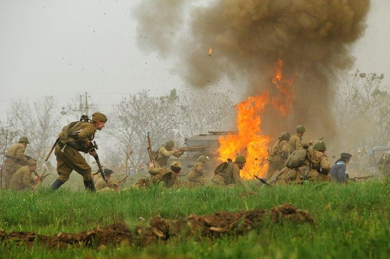 Битва за Берлин - реконструкция одного из сражений Великой Отечественной (6)