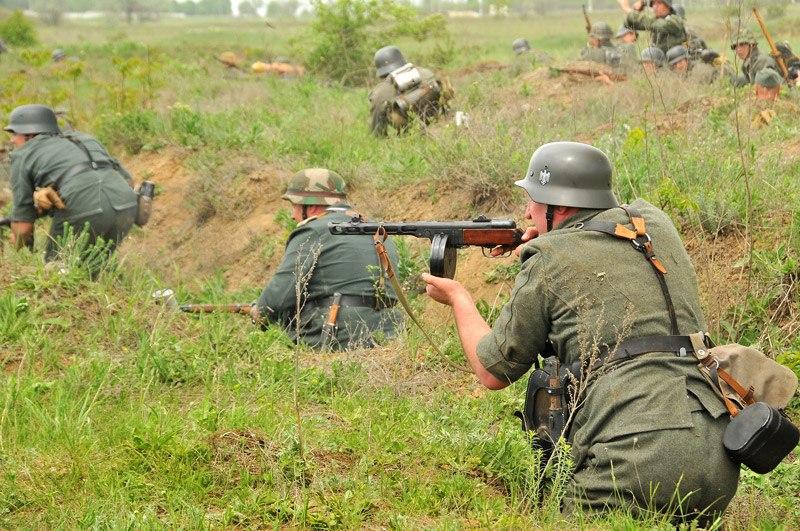 Битва за Берлин - реконструкция одного из сражений Великой Отечественной (5)