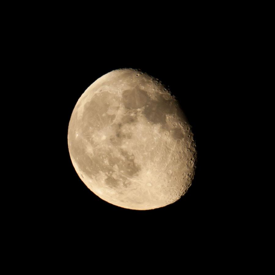 Луна - 8 июня 2012 года: 00-01