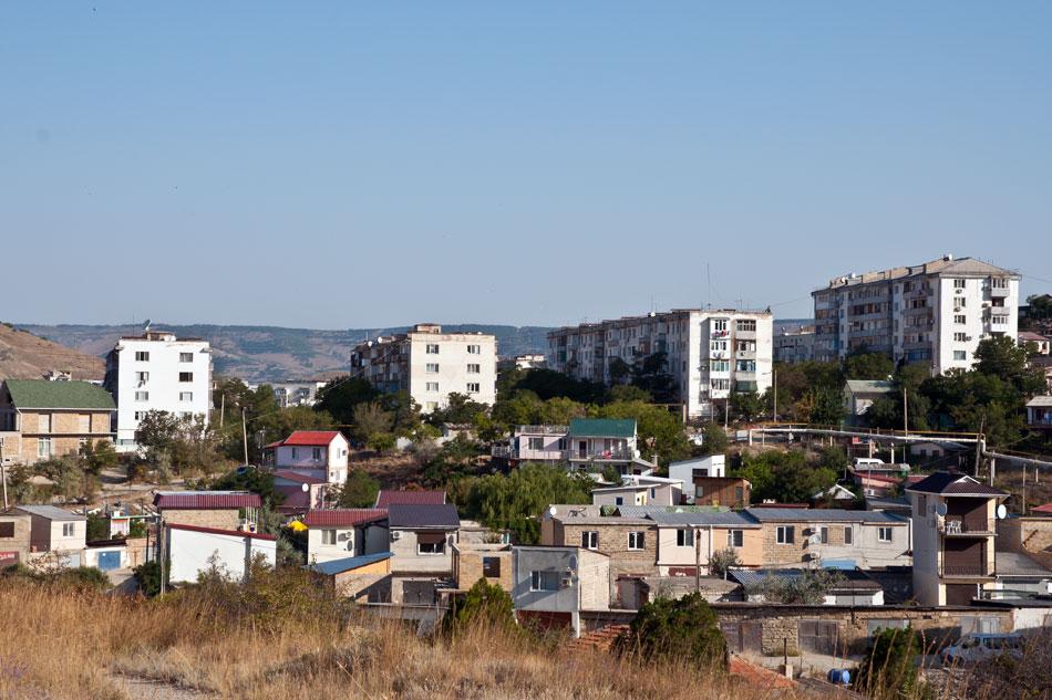 Пейзаж с ритмом - Крым, Орджо