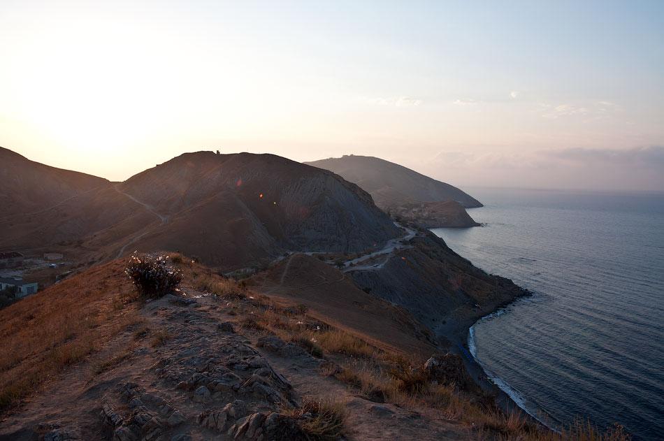 Крым, Орджо - утреннее восхождение на Васюковку (8)