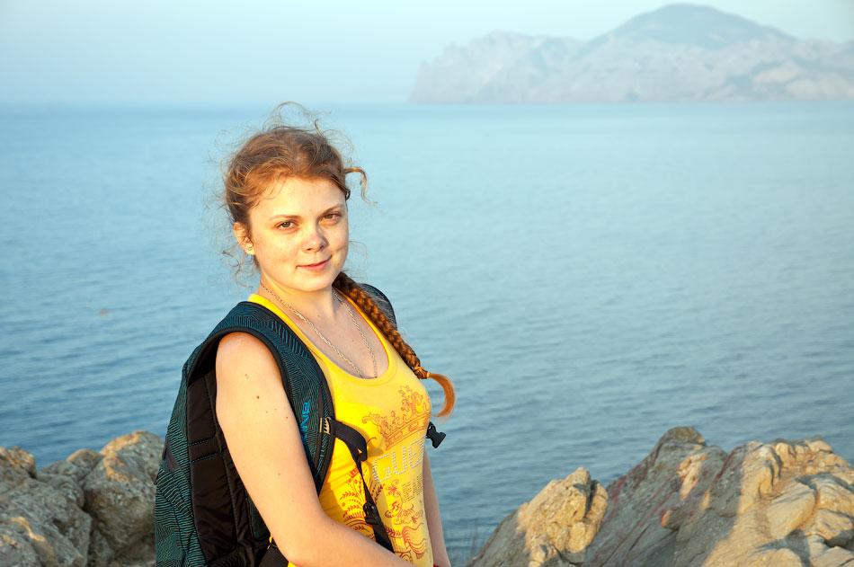 Крым, Орджо - утреннее восхождение на Васюковку (13)