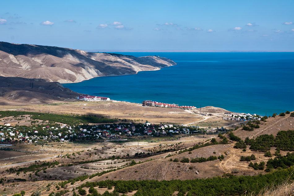 Дорога Коктебель - Тихая бухта - Орджоникидзе - 2012 год (32)