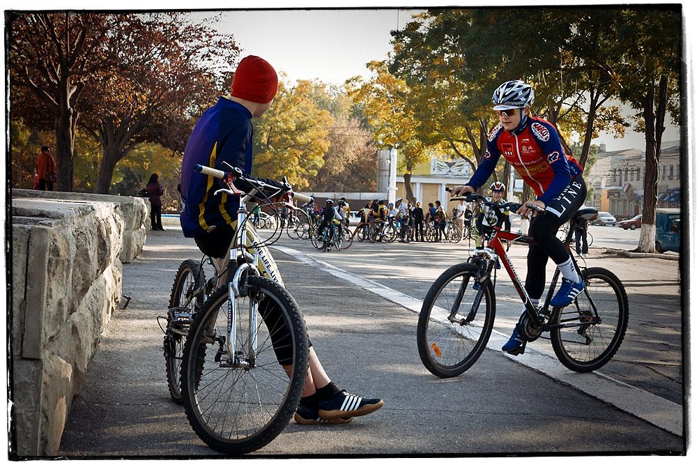 """Велопробег """"Веломарш 2012"""" в Тирасполе (1)"""