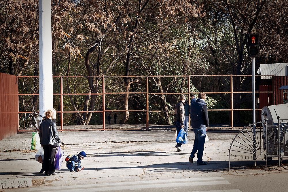 Место дислокации автоматов газводы в Тирасполе (2)