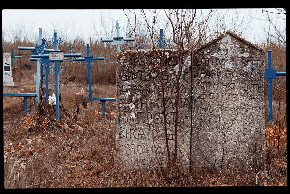 Старое кладбище на окраине села Плоть (3)