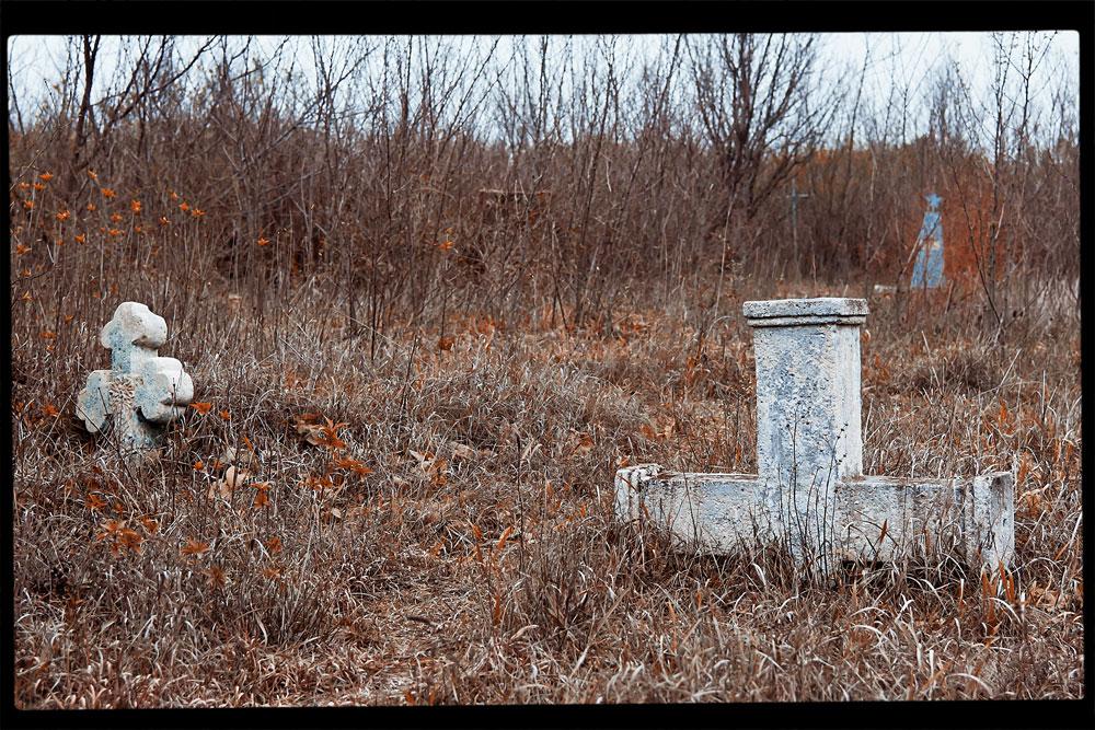 Старое кладбище на окраине села Плоть (6)