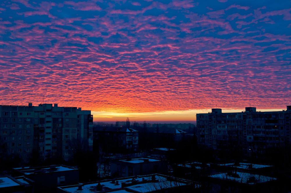 Утреннее небо Тирасполя (2)