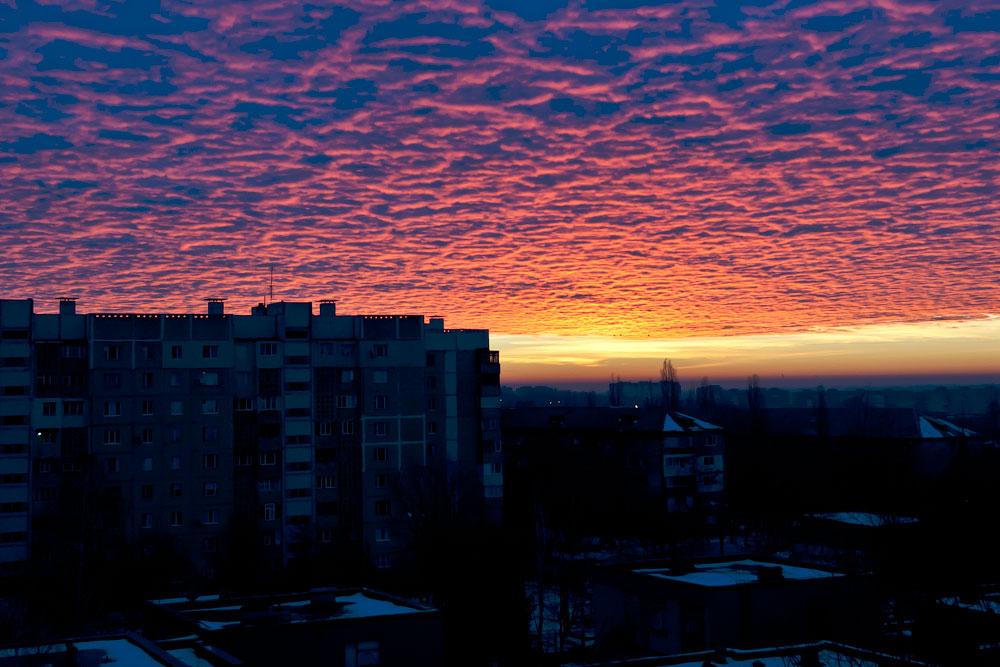 Утреннее небо Тирасполя (3)