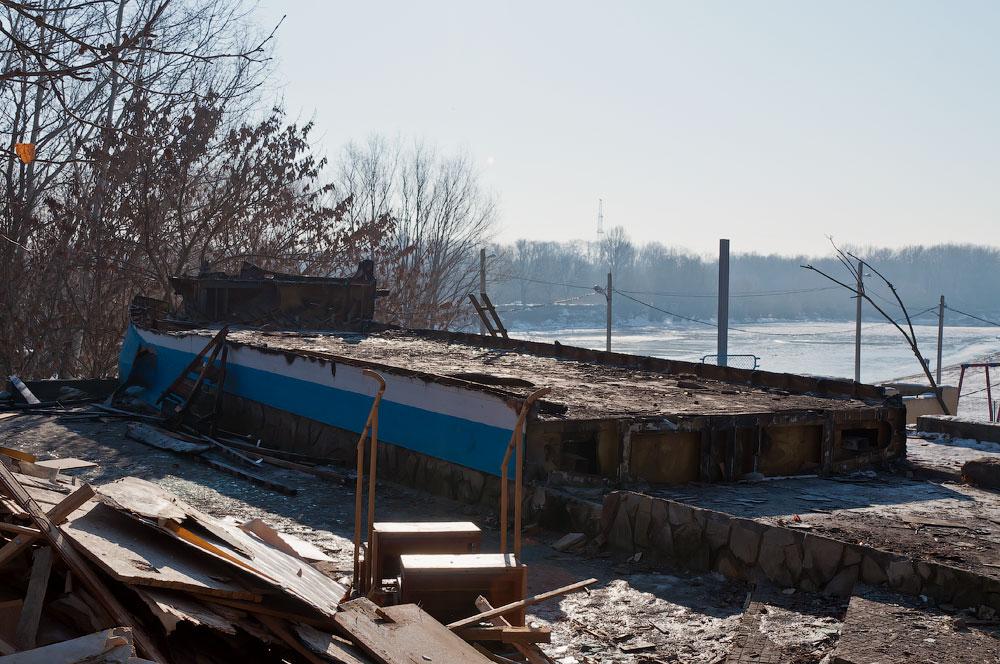 разрушенные здания в Тирасполе (2)