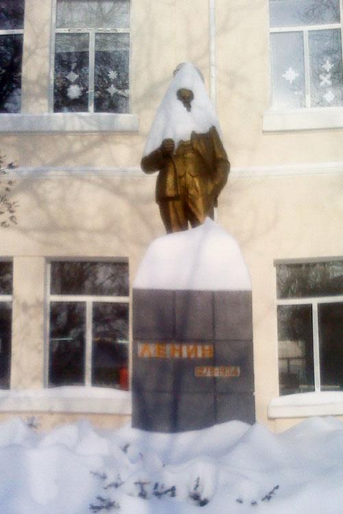 Ленин в январе