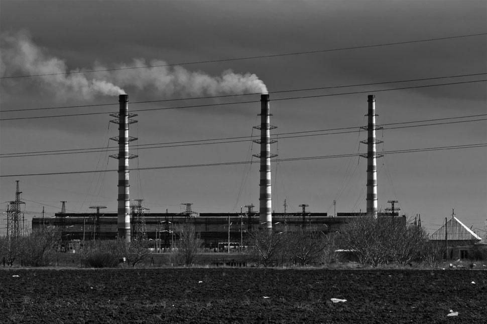 Трубы Молдавской ГРЭС - Днестровск, Приднестровье