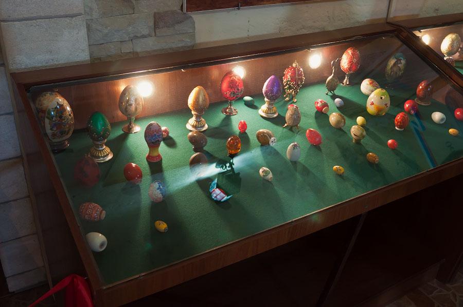 Пасхальные яйца в Бендерской крепости