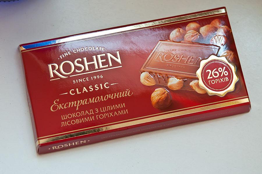 запрет России на украинский шоколад