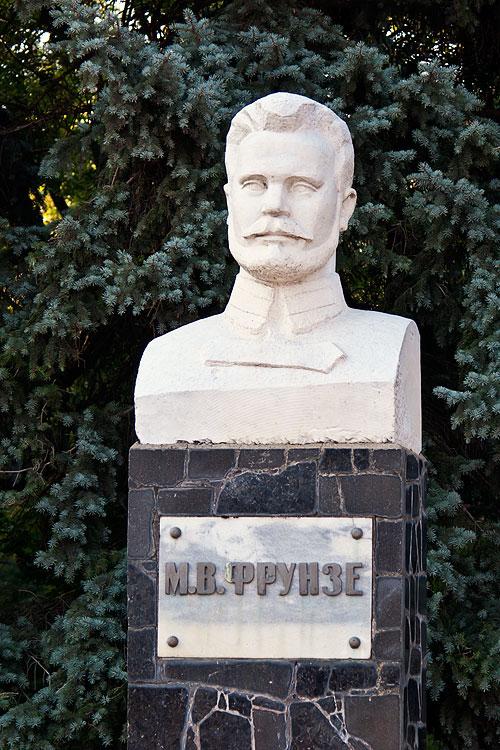 Памятник М.В. Фрунзе в Тирасполе