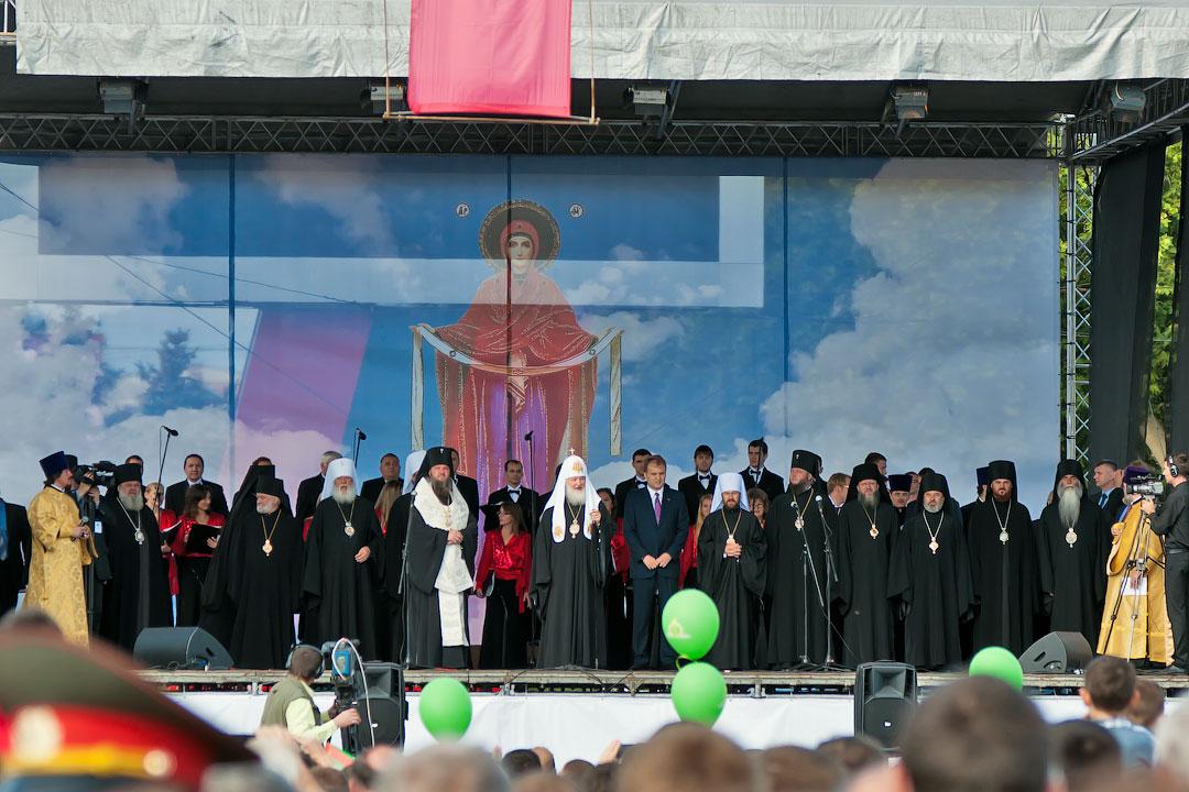 Патриарх Кирилл в Тирасполе (9)