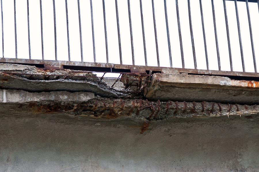 В Приднестровье рушится ещё один автомобильный мост (4)