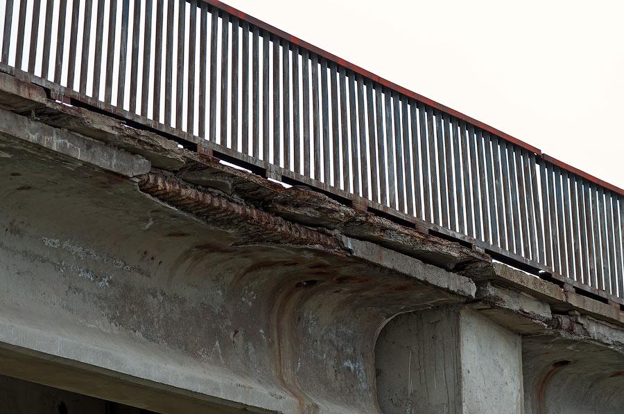 В Приднестровье рушится ещё один автомобильный мост (5)