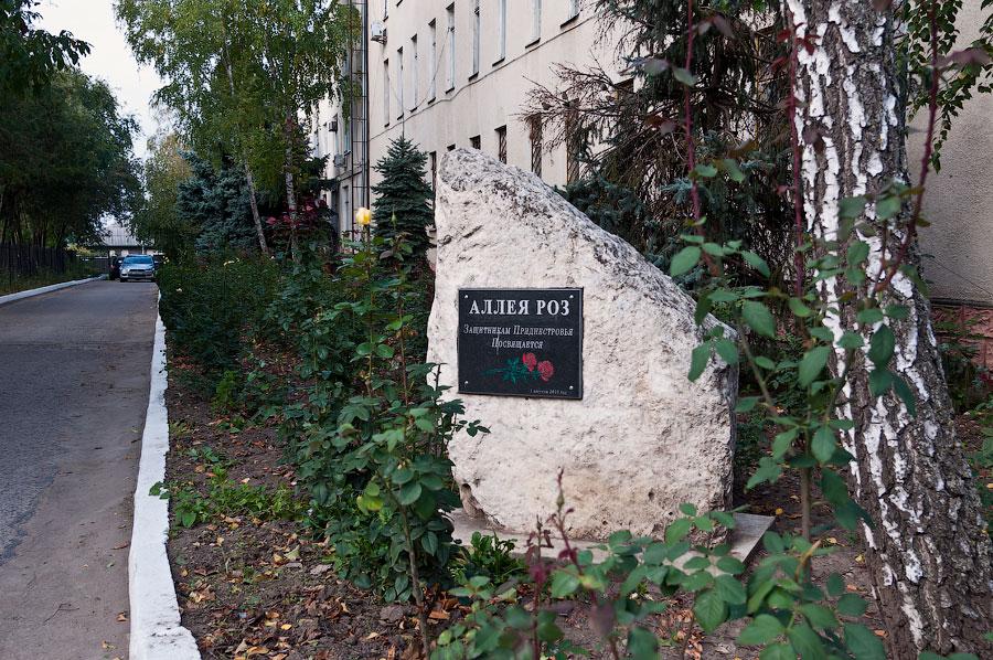 Аллея роз - еще один памятник в Тирасполе