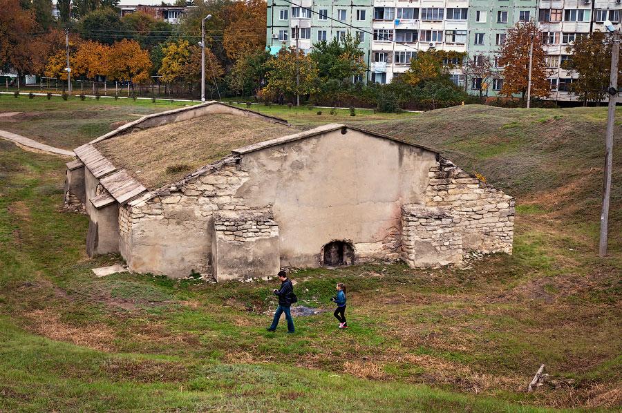 Установка мемориальной доски у бастиона Святого Владимира (Тирасполь, крепость Срединная) (10)