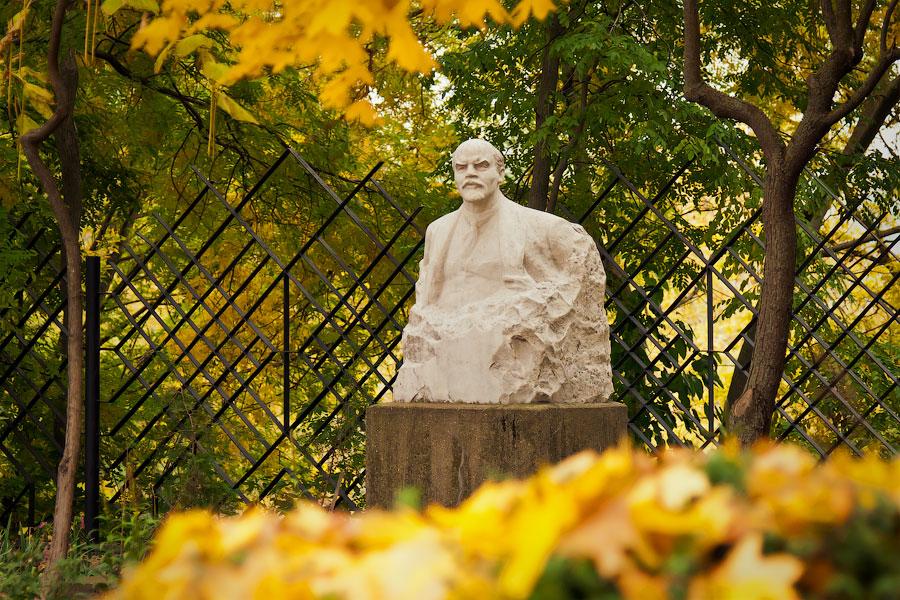 Памятник Ленина в Тирасполе (Приднестровье)