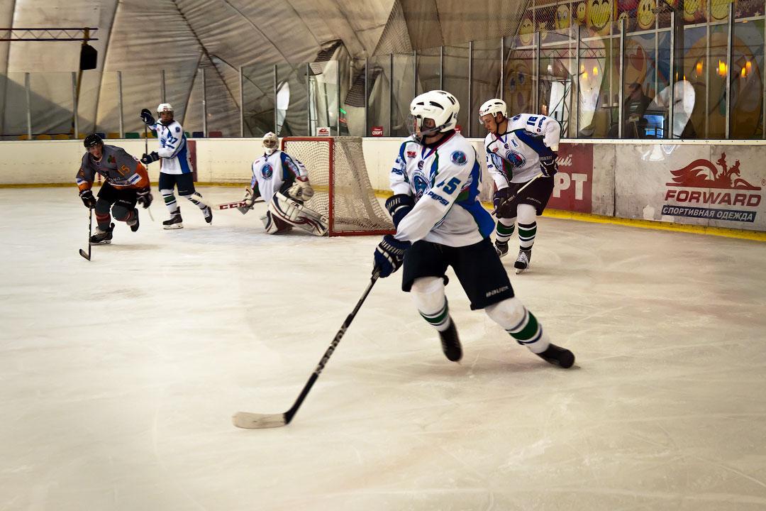 Хоккей в Тирасполе: Платина - Беркуты Кубани (5)
