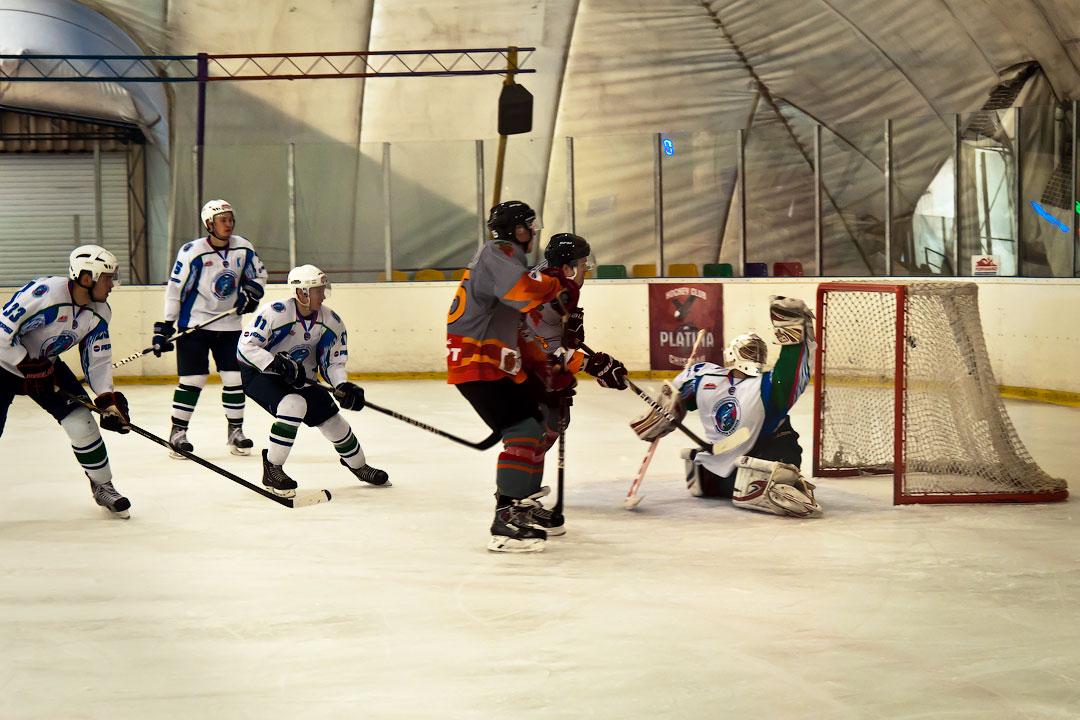 Хоккей в Тирасполе: Платина - Беркуты Кубани (6)