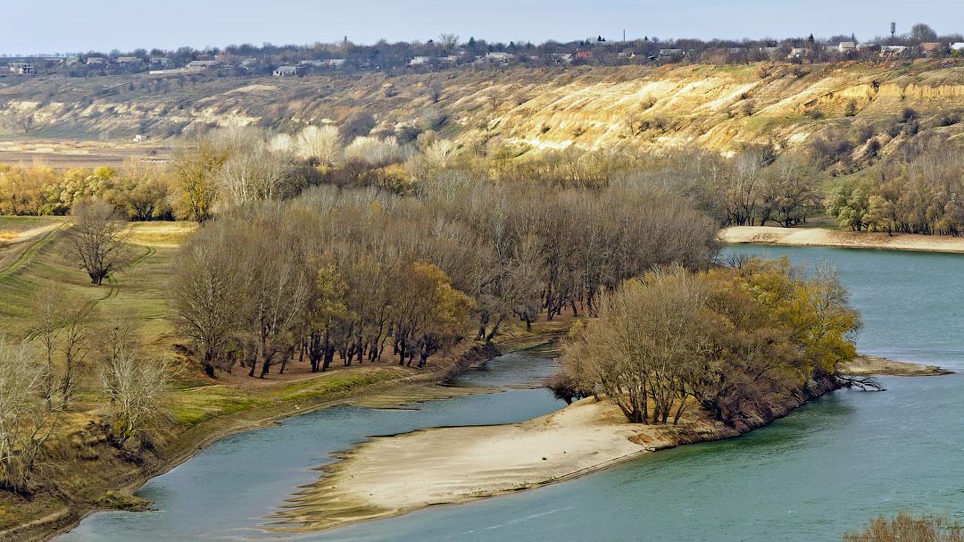 Село Бычок, река Днестр (2)