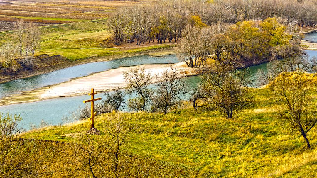 Село Бычок, река Днестр (9)