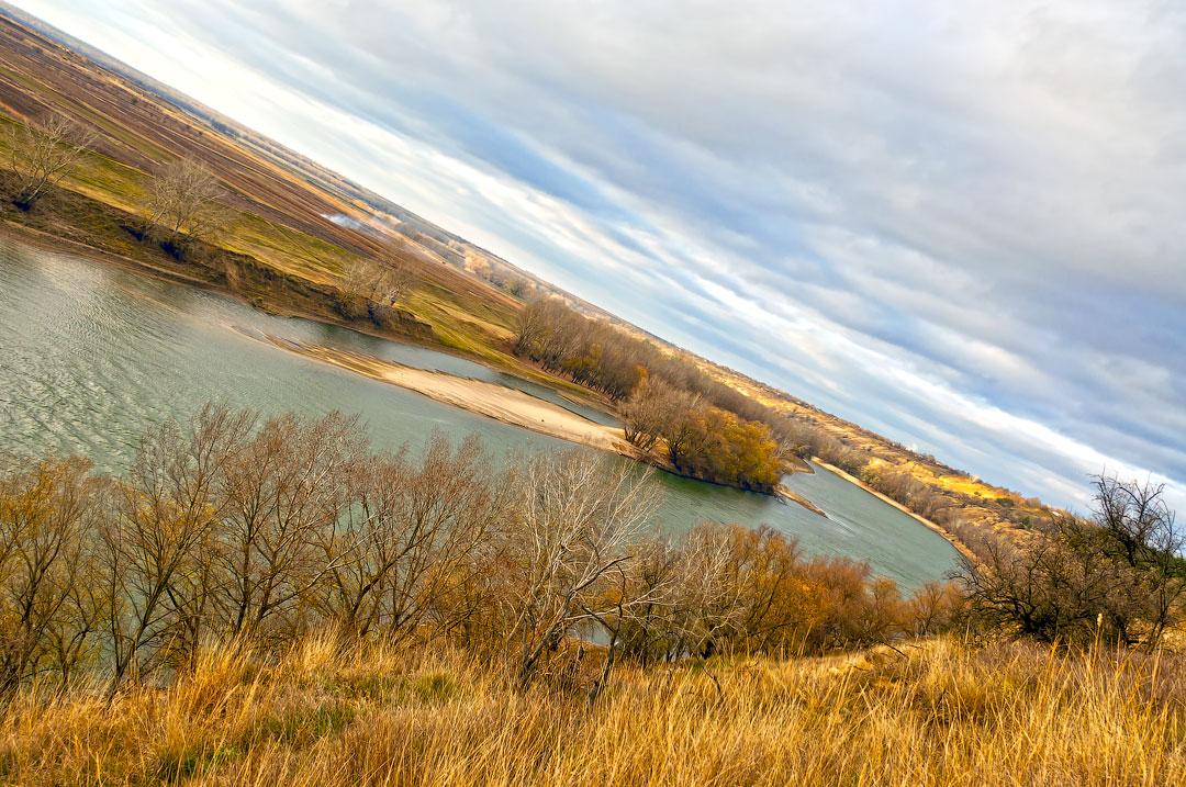 Село Бычок, река Днестр (12)