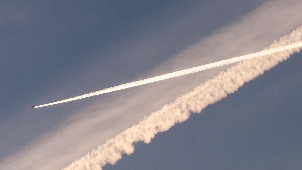 Над Приднестровьем летают самолёты